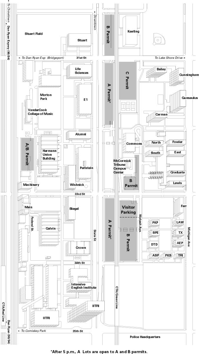 iit chicago campus map Pbar2000 Workshop iit chicago campus map